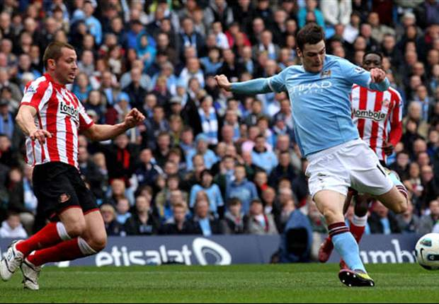 Adam Johnson accepts limited game time in Manchester City squad rotation