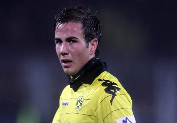 Mario Goetze: I won't leave Borussia Dortmund