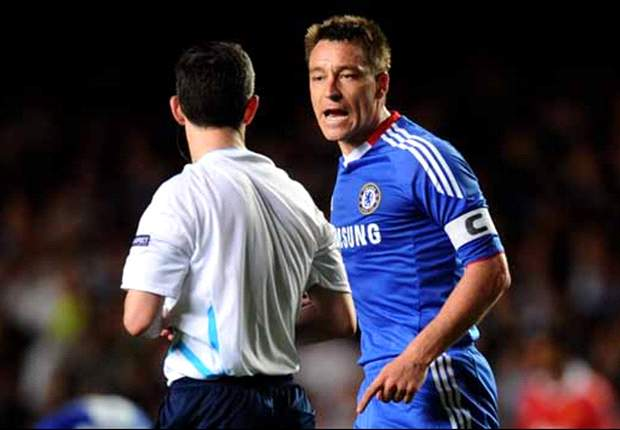 It's us against the world - Chelsea's John Terry bemoans controversial defeat to Manchester United