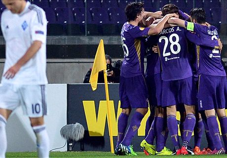 Ratings: Fiorentina 2-0 Kiev (agg 3-1)