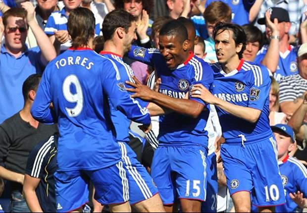 Chelsea 1-0 Wigan Athletic: Florent Malouda strike sends visitors closer to relegation