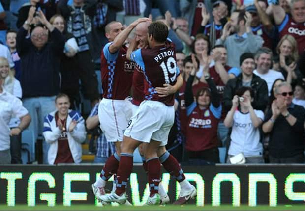 James Collins Menangkan Aston Villa
