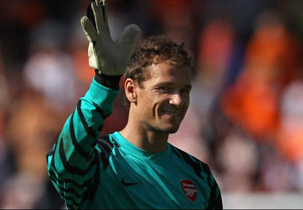 Arsenal midfielder Jack Wilshere hails 'brilliant' Jens Lehmann after Blackpool outing