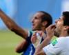 Suarez bite in the past, says Chiellini