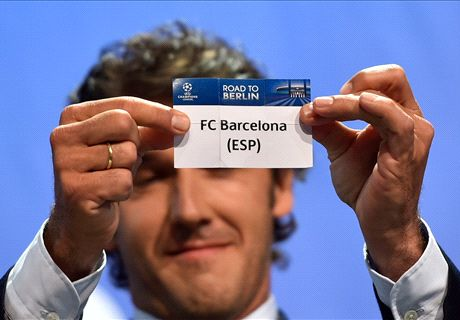 Barca draw Bayern, Madrid face Juve