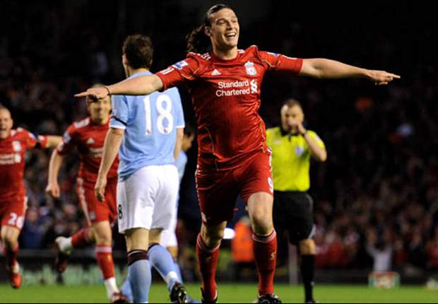 Liverpool's Andy Carroll confident of beating Arsenal to break Emirates duck