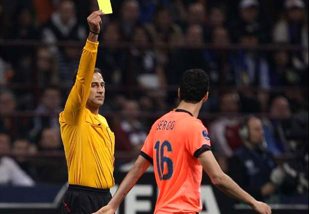 Sergio Busquets tipped to be booked for Barcelona in Clasico clash
