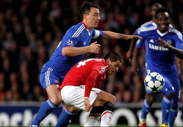 Chelsea boss Andre Villas-Boas reveals John Terry ruled out of Manchester United clash due to knee injury