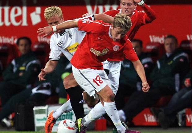 Mainz 1-0 Borussia Moenchengladbach: Late Schurrle strike steals points for hosts