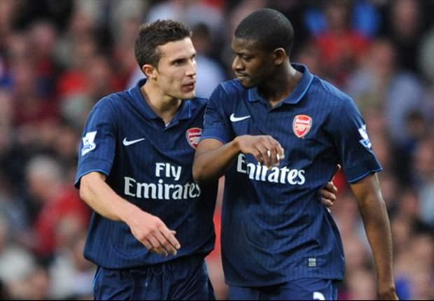 ANG, Arsenal - Diaby remercie Van Persie