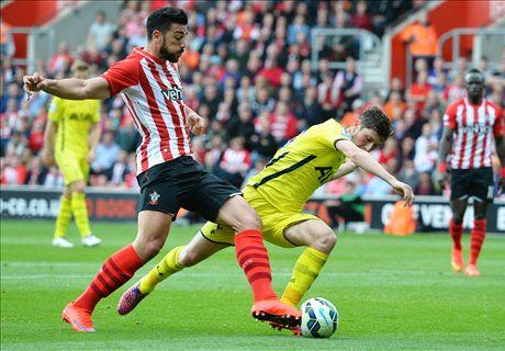 LIVE: Southampton 2-2 Tottenham