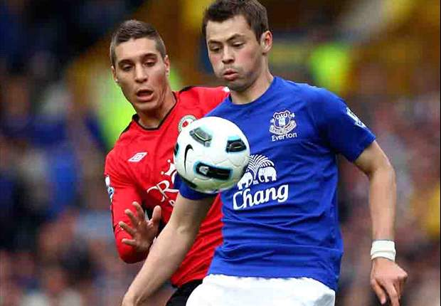 Everton 2-0 Blackburn: Osman strike & Baines penalty bolster Toffees' European charge to push Rovers closer to drop zone
