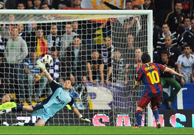 Real Madrid's Iker Casillas: It is a pleasure to face Barcelona's Lionel Messi