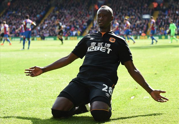 Crystal Palace 0-2 Hull City: N'Doye eases pressure on Tigers