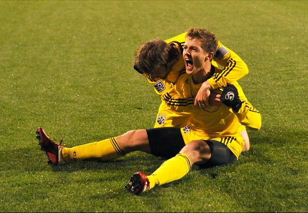 Columbus Crew 1-0 Sporting KC: Rogers' tally was enough to give the home side the win