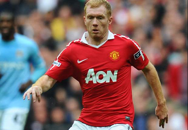 TEAM NEWS: Paul Scholes on the bench for Manchester United's FA Cup tie against City