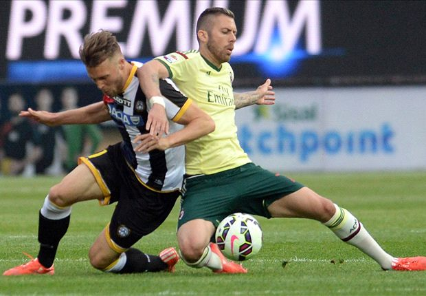 Udinese 2-1 AC Milan: Suffering goes on for Inzaghi's men