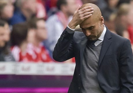 Pep: Bayern down to bare bones