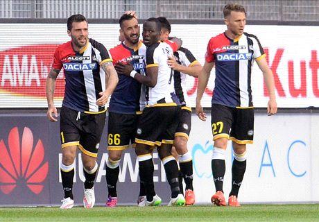 Solo Udinese: il Milan dice addio all'Europa
