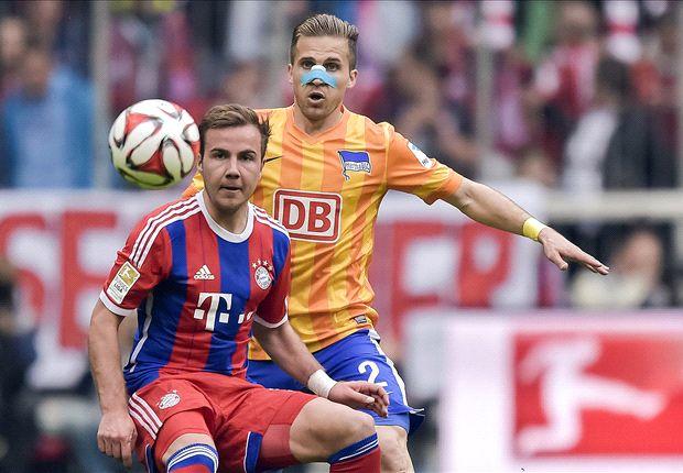 Bayern Munich 1-0 Hertha Berlin: Schweinsteiger makes the difference for hosts