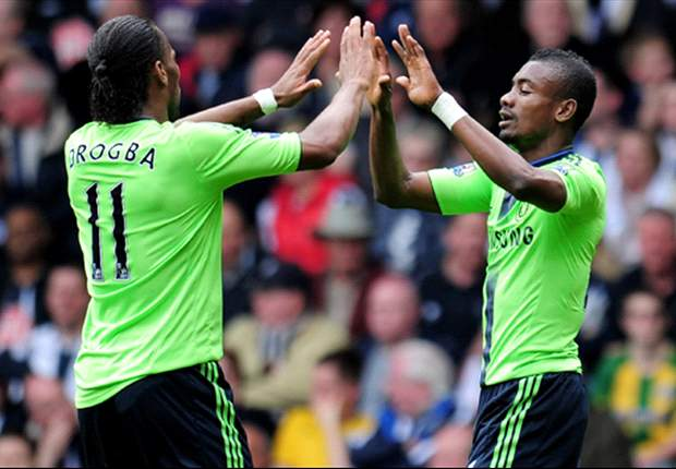 Chelsea's Salomon Kalou: We play better in a 4-3-3 formation