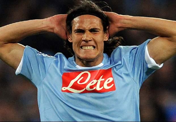 Edinson Cavani's three-game ban reduced following Napoli appeal