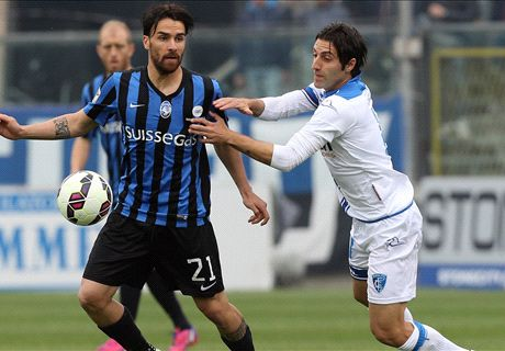 Atalanta-Empoli LIVE! 1-2, Maccarone