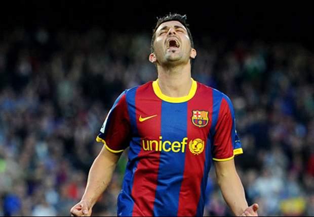 Endlich wieder David Villa, FC Barcelona siegt im Camp Nou gegen Osasuna