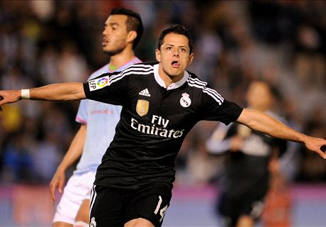 Here to stay? Chicharito on fire for Madrid