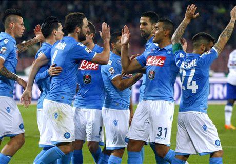 Napoli, 'Pipita' alla corsa Champions