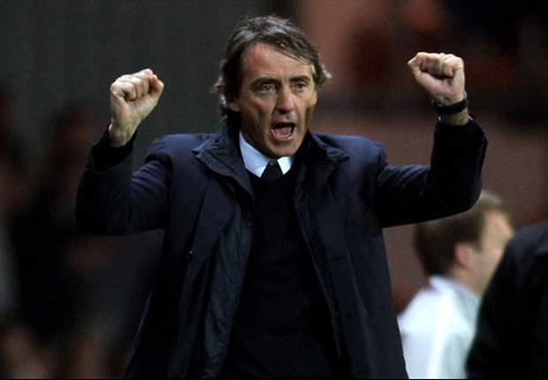 Mancini: 'Today is a small piece of history for Manchester City'