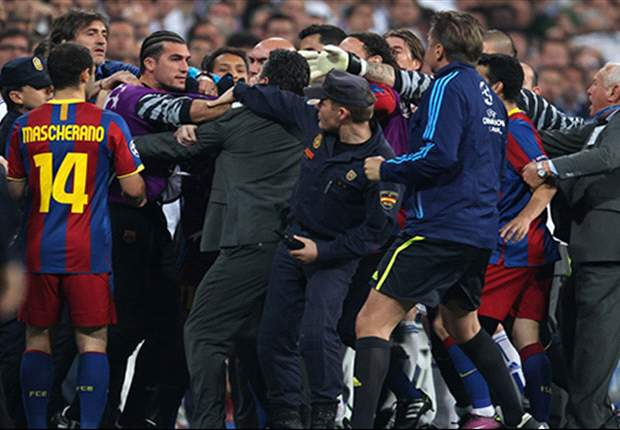 Real Madrid Call On Uefa To Ban Six Barcelona Players For 'Premeditated Anti-Sporting Behaviour' Following Ill-Tempered Clasico Clash - Report