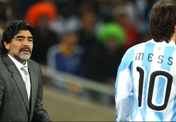 The new Maradona? No, Lionel Messi is a talisman for Argentina and Barcelona in his own right