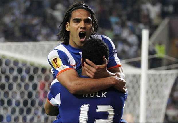 Porto striker Falcao proud to equal Jurgen Klinsmann's European record