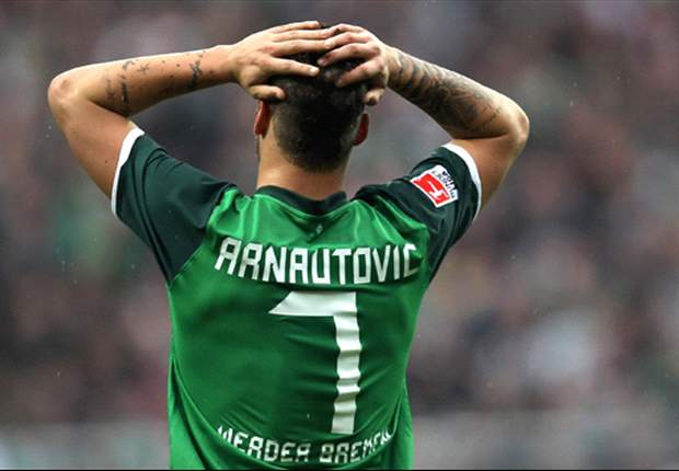 Werder Bremen's Marko Arnautovic admits he must make amends for errors