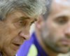 Zabaleta backs under pressure Pellegrini