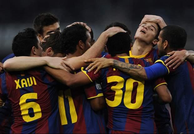 Liga BBVA: La Real Sociedad más cerca de la Permanencia a costa del Barça (2-1)