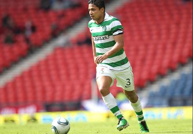 Celtic full-back Emilio Izaguirre 'flattered' by Liverpool interest
