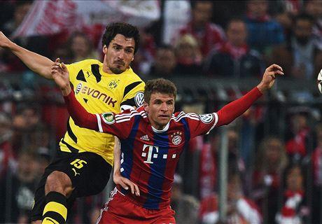 LIVE: Bayern 1-0 Borussia Dortmund