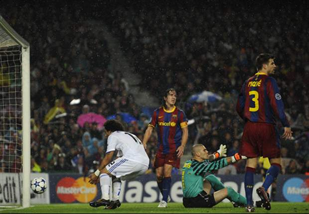 Barcelona 1-1 Real Madrid (3-1 agg.): Pedro goal sees Catalans through to Champions League final as fourth Clasico ends in draw