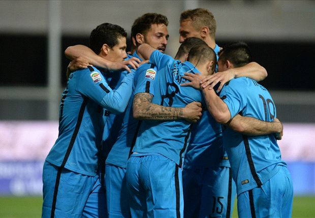 Udinese 1-2 Inter: Icardi and Podolski bolster European hopes