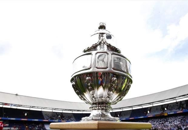 Halve finales KNVB Beker op 27 februari