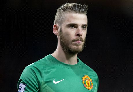 De Gea coy over Man Utd future