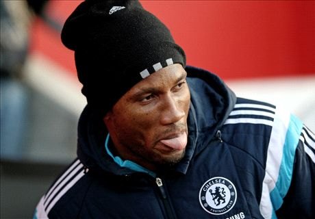 Drogba spotted at Stamford Bridge