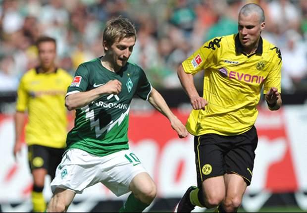 Borussia Dortmund's Jurgen Klopp feels Werder Bremen deserved the three points