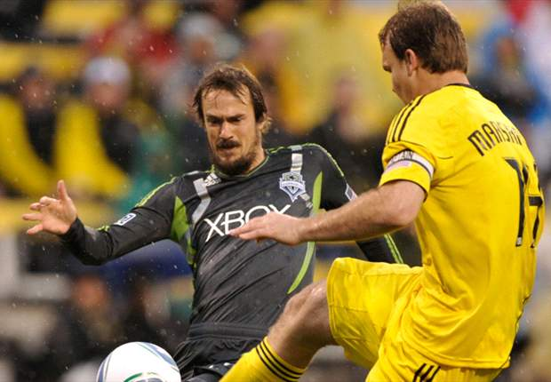 Columbus Crew 1-1 Seattle Sounders: Sounders earn a point in rainy Columbus