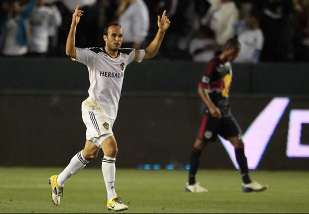 Los Angeles Galaxy 1-1 New York Red Bulls: High-profile sides battle to thrilling 1-1 draw