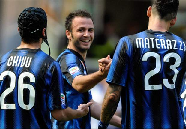 Inter 3-1 Fiorentina: Pazzini, Cambiasso and Coutinho goals keep Leonardo's men in second