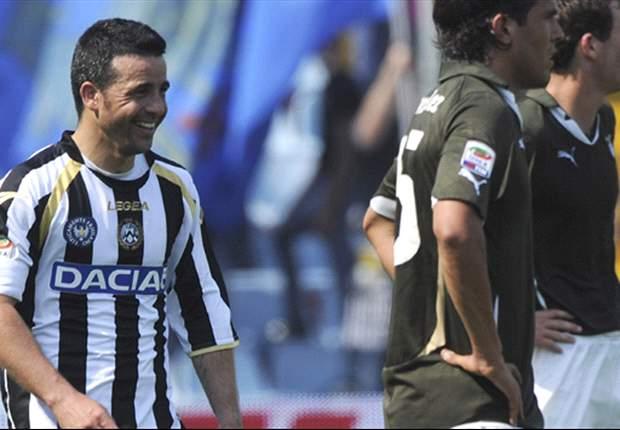 Udinese 2-1 Lazio: Di Natale double sends Little Zebras into Champions League spot