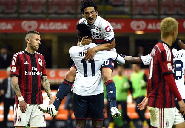 AC Milan 1-3 Genoa: Gasperini's men pile more pressure on Inzaghi